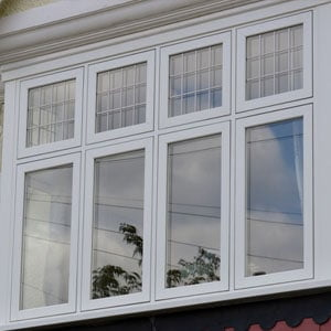 UPVC Timber Effect Window